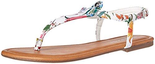 Rampage Women's Pashmina Flat Sandal, Ditzy Floral, 10 M US -