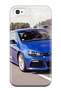 Hotvolkswagen Scirocco 22 Tpu Case Cover Compatible With Iphone 4/4s