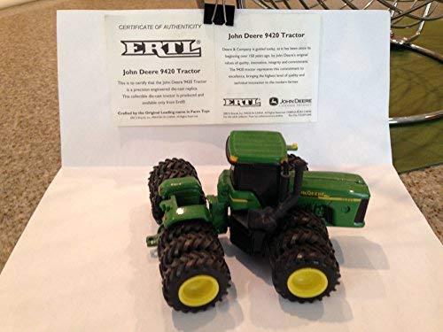 John Deere 9420 Tractor - John Deere 9420 Tractor with Triple Tires/wheels, 1:64