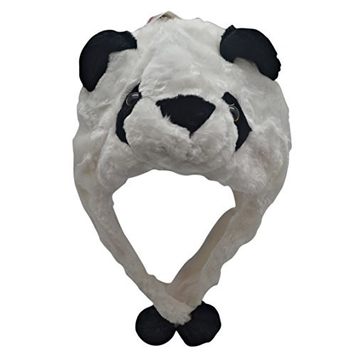 Plush Animal Hats for Kids - 'Assorted Hat-imals' Animal Hats - Critter Cap Cold Weather Winter Hat (Panda) -