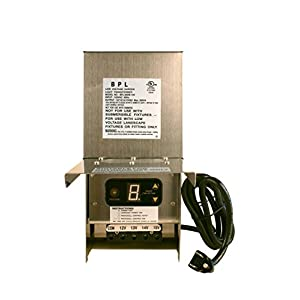 300W Low Voltage Landscape Light Transformer 12V
