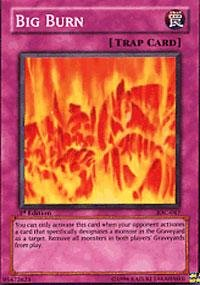 Yu-Gi-Oh! - Big Burn (IOC-047) - Invasion of Chaos - Unlimited Edition - Super Rare