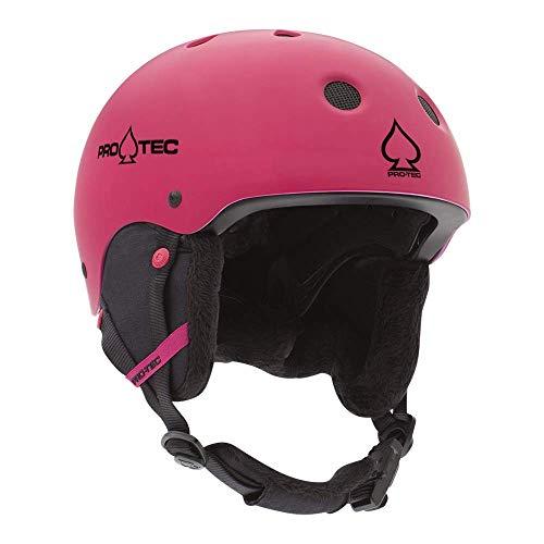 ProTec Junior Classic Certified Snow Helmet - Matte Pink (XS)
