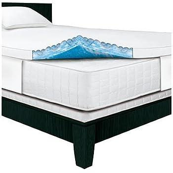 Amazon Com Serta Rest Queen 3 Inch Gel Memory Foam