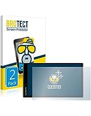 BROTECT 2x Antireflecterende Beschermfolie compatibel met Garmin DriveSmart 65 Anti-Glare Screen Protector, Mat, Ontspiegelend