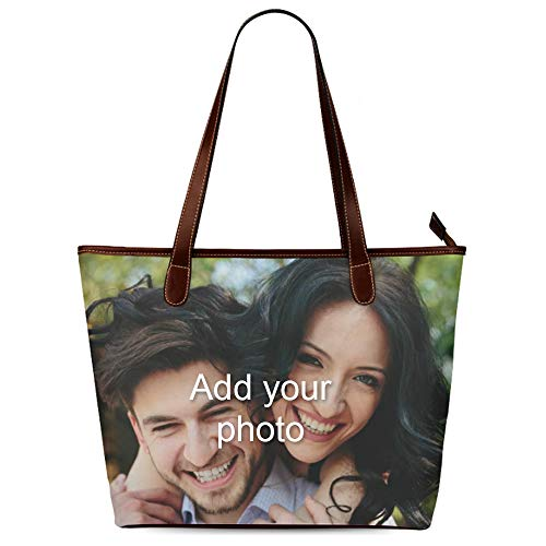 Custom Gifts for Women - Design Waterproof Fabric Tote Bag Printed Your -