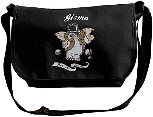 ショルダーバッグ スポーツバッグ ワンショルダー グレムリン ギズモ メッセンジャーバッグ 斜めがけ ボディバッグ 肩掛けバック 大容量 A4ファイル収納可能 多機能 日常お出かけ 通勤 通学 無地 メンズ カバン ユニセックス