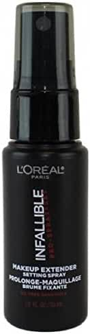 L'Oreal Paris Cosmetics Infallible Pro-Spray and Makeup Extender, Setting Spray,Travel size 30 ml/1.0 fluid ounce
