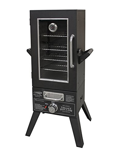 series lp gas smoker