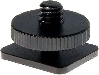 Stativadapter Blitzschuhadapter 1/4'' zu standard ISO-Blitzschuh