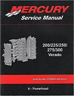 mercury verado owners manual