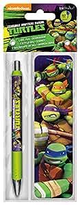 Trends International Gel Pen + Bookmark Pack Teenage Mutant Ninja Turtles
