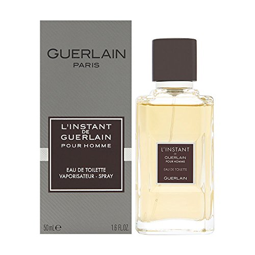 Guerlain L'Instant De Guerlain Pour Homme Eau De Toilette Spray (New Version) 50ml/1.6oz (Guerlain Linstant Homme De Pour)