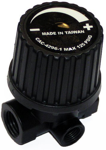 Porter Cable Air Compressor Replacement 3-Port Regulator # - Air Parts List Compressor