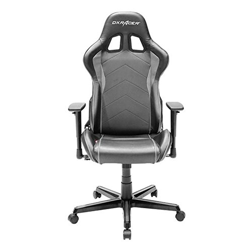 DXRacer OH/FH08/NG Ergonomic, High Quality Computer Chair for Gaming, Executive or Home Office Formula Series Gray / Black