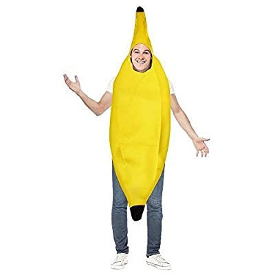 Banana Costume with Polyester for Halloween Costume | Youth and Adult Costumes