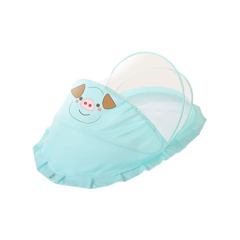 anne210 Baby Stroller Net Bed Mosquito Netting Children Bed Mosquito Net Newborn Folding Self-Expanding Tent Insect Netting
