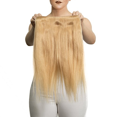 """Price comparison product image Sono 1 Count 105 g 16"""" Solo Straight Sono 1 Count 100% Human Hair Extensions, #24 Light Gold Blonde"""