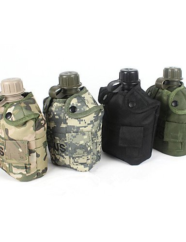 ZQ 1 L Trinkrucksäcke & Wasserblasen Camping & Wandern / Radsport Outdoor Multifunktions Grau / Camouflage Plastik other