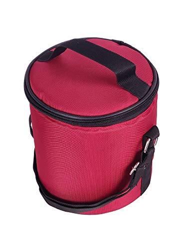 Foonty Office Use Waterproof Lunch Bag/Tiffin Bag Maroon,7049