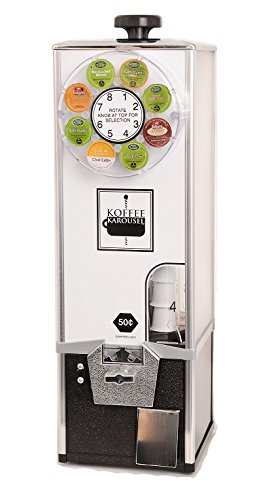 Koffee Karousel K-Cup Vending Machine (1-Quarter Coin Mechanism)