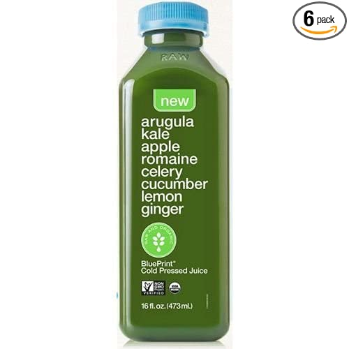 Amazon blueprint organic arugula kale juice 16 fluid ounce amazon blueprint organic arugula kale juice 16 fluid ounce 6 per case grocery gourmet food malvernweather Choice Image