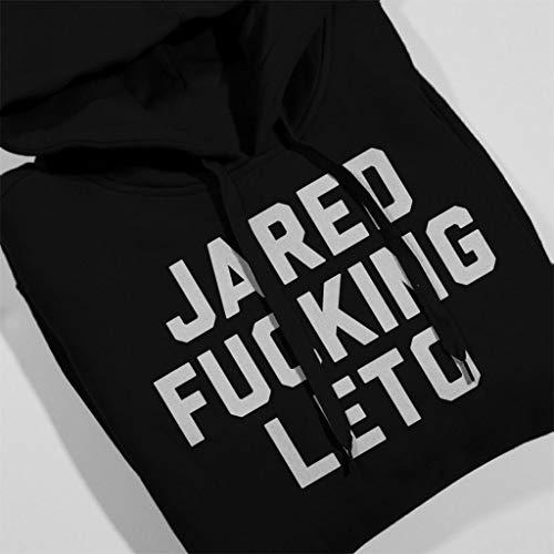 Women's Hooded Black Sweatshirt Leto Jared Coto7 Fucking qfxOTwzWv