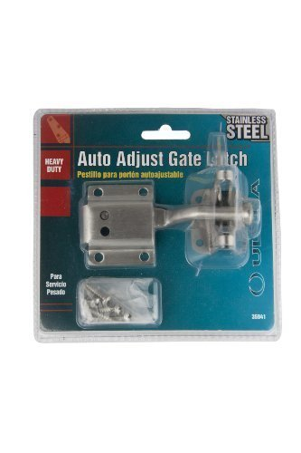 Ultra Hardware 35941 Auto Adjust Gate Latch, Stainless Steel by Ultra Hardware