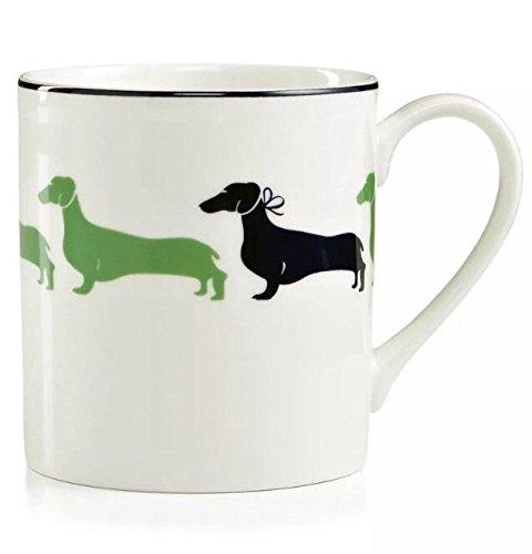 Wickford Mug - Set of 2 Kate Spade of New York Wickford Daschund Coffee Mug (10 oz)