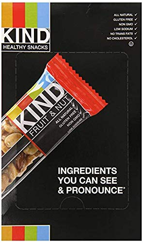 KIND Fruit & Nut, All Natural/Non GMO, Gluten Free Bars
