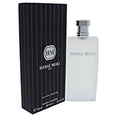 HANAE MORI by Hanae Mori for MEN EAU DE PARFUM SPRAY 3.4 OZ Launched by the design house of Hanae Mori in 1998, HANAE MORI by Hanae Mori possesses a blend of woodsy with exotic citruses.. It is recommended for daytime wear.