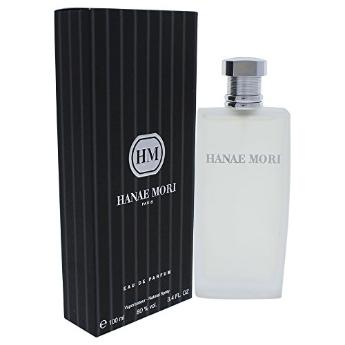 Hanae Mori Eau de Parfum Spray for Men, 3.4 Fluid Ounce
