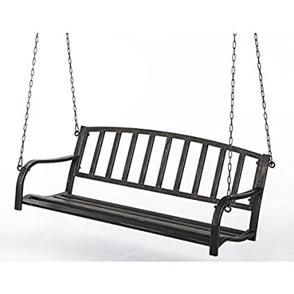 Metal Patio Porch Swing