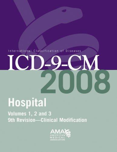 AMA Hospital ICD-9-CM 2008, Volumes 1, 2 & 3 - Full Size Edition