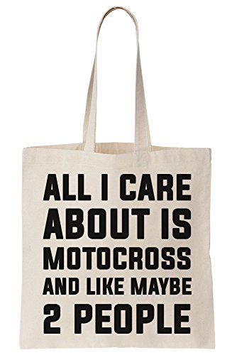 Tote Care Canvas All Motocross About Maybe And I Is 2 Bag Like People PHH5awgqv