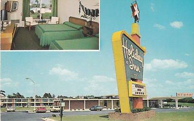 F0251 NC, Smithfield Holiday Inn Postcard