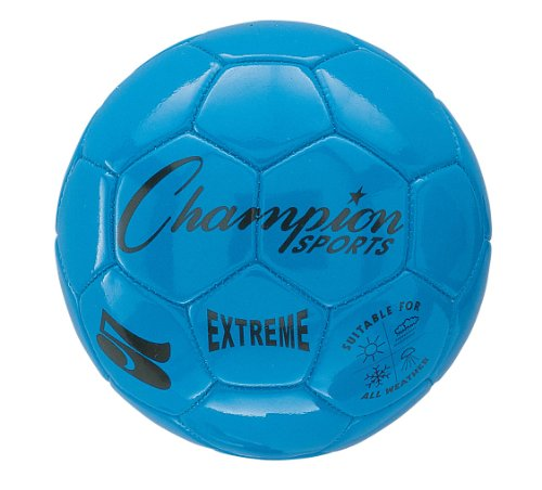Champion Sports Extreme Soccer Ball, Size 4, Blue