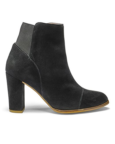 Womens Sole Diva Ankle Boots Black, 4