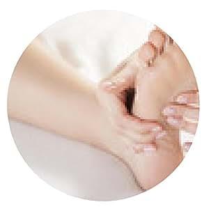 alfombrilla de ratón masaje de pies - ronda - 20cm