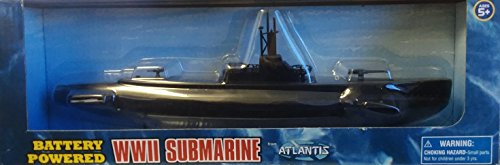 Battery Powered WWII Gato/Balao Class Submarine Atlantis Toy and Hobby