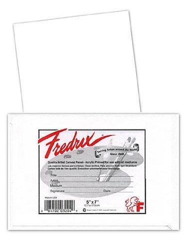 Fredrix Canvas Boards 8 in. x 10 in. each [PACK OF 12 -