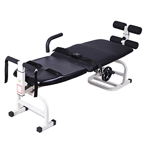 Zinnor Therapy Massage Bed Cervical Spine Lumbar Spine Traction Bed Therapy Massage Bodys Stretch Device Reduction Spinal Joint Pressure Steel Pipe Health for Facial SPA Bed Beauty Salon from Zinnor