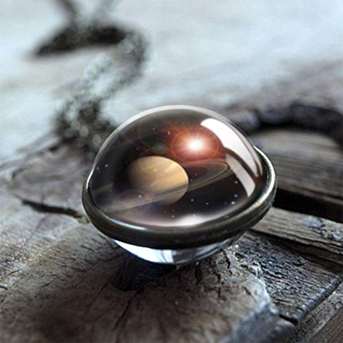 - Aukmla Nebula necklace Thors Helmet Jewelry Space Pendant Galaxy Necklace Galaxy Pendant Glass Dome Necklace Universe Pendant for Women and Girls (Galaxy)
