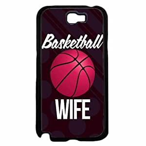 Basketball Wife Plastic Phone Case Back Cover Samsung Galaxy Note II 2 N7100