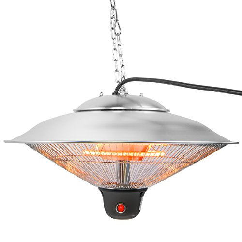 Xtremepowerus 20 Quot Ceiling Electric Hanging Heater 1500