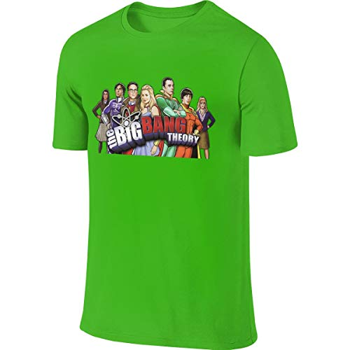 Customized The Big Bang Theory Superhero O-Neck Short Sleeve T-Shirts Cool Top T-Shirts for -