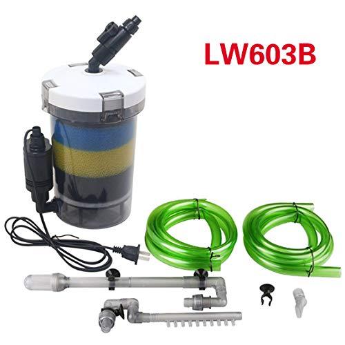 - S-World 4Home Aquarium Filter - sunsun Aquarium Filter Ultra-Quiet External Aquarium Filter Bucket 110V-220V / 6W / HW-602 / HW-603 / HW-602B / HW-603B