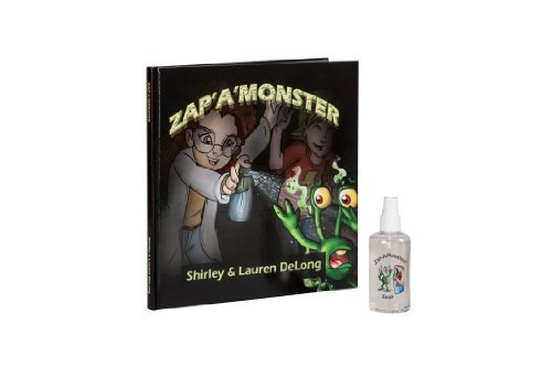Zap A Monster Hard Cover Book and Zap A Monster Spray Gift Set