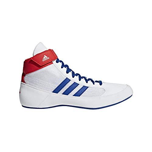 adidas HVC, White/Royal/Red, 10