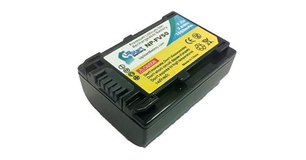 Amazon.com: Sony NP-FV30 – Batería de repuesto de alta ...